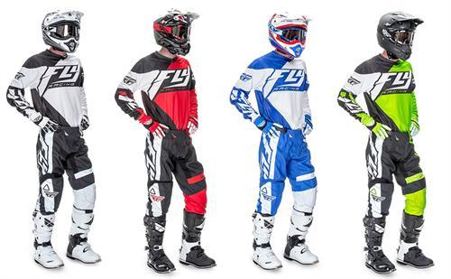 Dirt Bike Gears : Fly f dirt bike gear package