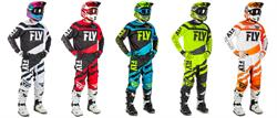 fly 2018 F-16 dirt bike gear