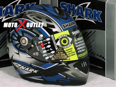 Shark helmet RSR 2 Muggeridge Black/Blue