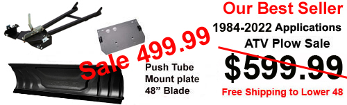 cyclecountry atv plow sale 359.99
