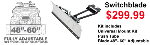 Kolpin Switchblade Atv Snow Plow sale 299.99