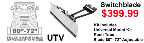 Kolpin UTV Switchblade Utv Snow Plow sale 399.99