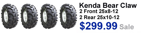 Bear Claw set of 4 Tires Sale